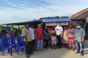 Aksi Nyata DPW Perindo Bangka Belitung, Bantu Warga Kurang Mampu di Teluk Limau