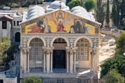 Pria Yahudi Israel Nyaris Bakar Gereja Gethsemane Bersejarah di Yerusalem