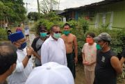 Jelang Debat Ketiga Tetap AMAN, Akhyar Nasution Temui Warga Terdampak Banjir