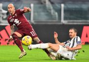 Tandukan Bonucci Warnai Comeback Dramatis Juventus atas Torino