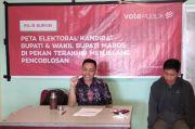 Lembaga Survei: Pemenang Pilkada Maros Hanya Diperebutkan 2 Pasangan Calon