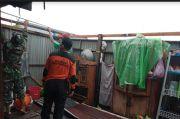 Angin Kencang Rusak Satu Rumah Warga di Kabupaten Pangkep