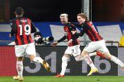 Tekuk Sampdoria, AC Milan Belum Terkalahkan di Serie A