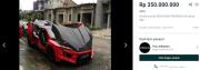Hypercar Lykan Hypersport di Fast Furious 7 Dilego Rp350 Juta, Nego dan Pajak Panjang!
