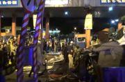 Truk Tabrak Tollgate Pelabuhan Bakauheni akibat Rem Blong, 3 Orang Tewas