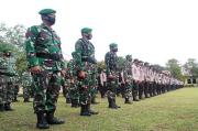 Jelang Pilkada Bangka Tengah, Ratusan Personel TNI - Polri Siaga di Seluruh TPS