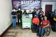 Tekiro Donasikan Perkakas untuk Bengkel Disabled Motorcycle Community