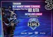 3 Indonesia Bikin Kompetisi Video Main Gim dan Cosplay Berhadiah Rp80 Juta