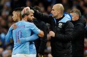 Jelang Man City vs Olympique Marseille: Guardiola Siapkan Aguero