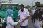 Naik Jeep Tua, Aulia Rahman Pasangan Bobby Nasution Nyoblos di TPS 01 Medan Deli
