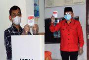Abang Beradik, Bupati JR Saragih dan Calon Bupati Simalungun Nyoblos di TPS yang Sama