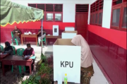 Takut Terpapar COVID-19, TPS di Mandailing Natal Sepi Pemilih