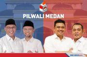 Bobby-Aulia Menang Versi Quick Real Count Indo Barometer di Pilkada Medan