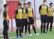 Pemain Persija Jakarta Ramai-ramai Ikut Kursus Pelatih Sepak Bola