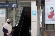 Penumpang MRT Jakarta Naik-Turun di Tengah Pandemi