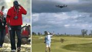Lihatlah Michael Jordan Kirim Snack di Lapangan Golf Pakai Drone!