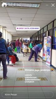 Pelayanan di Samsat Jakarta Timur Abaikan Protokol Kesehatan
