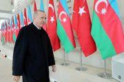 Hadiri Perayaan Kemenangan Azerbaijan, Erdogan: Perjuang Belum Berakhir