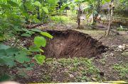 Memasuki Musim Hujan, Sinkhole Mulai Terjadi di Gunungkidul