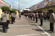 Usai Jalankan Tugas Pengamanan, 210 Personel BKO di Gowa Dipulangkan