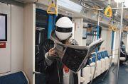 Masker Wajah Mirip Power Ranger Cegah Infeksi Covid-19