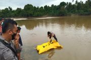 Mayat Misterius Mengapung di Sungai Batanghari Gemparkan Warga Tebo