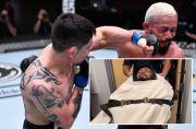 Bertarung Brutal, Jawara UFC Bekas Tukang Ojek Dilarikan Ke RS