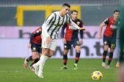 Bantu Juventus Kalahkan Genoa, Cristiano Ronaldo Ukir Rekor Baru
