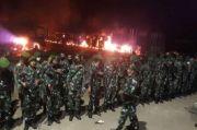 Redam Aksi Massa Bupati Datangi PT VDNI, Prajurit Yonif 725/WRG dan 3 SSK Brimob Siaga