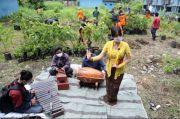 Ritual Tanam Sambut Hujan, Sulap Lahan Kosong Rusun Sumur Welut Jadi Kebun