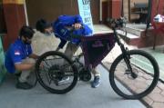 Bermodal Sepeda Bekas, SMK di Kota Malang Mampu Membuat Sepeda Listrik