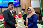 Wakil Ketua dan Dua Anggota DPRD Kabupaten Maros Dilantik