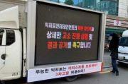 Tak Setuju dengan Rencana Big Hit, ARMY Kirimkan Truk Protes