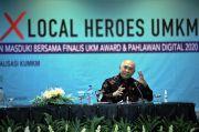 Pahlawan Digital dan UKM Award Jadi Panutan Pelaku UKM Masa Depan