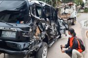 3 Karyawan Bank di Tasikmalaya Lolos dari Maut usai Mobil Ditabrak Kereta Api
