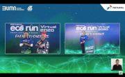 Pertamina Virtual Eco Run 2020, 3.000 Runner Donasi Rp2,95 M untuk Penyandang Disabilitas
