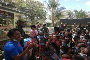 Cerdaskan Anak Perbatasan RI-PNG, Satgas Yonif MR 413 Kostrad Ubah Truk Jadi Perpustakaan