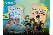 Konnichiwa! Vision+ Siapkan Konten Spesial Jepang Gratis, Pecinta Anime Merapat