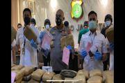 173 Kg Ganja untuk Rayakan Malam Tahun Baru Disita, Disembunyikan di Truk Kedongdong