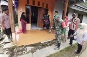 95 Rumah Rusak, Sebagian Miring Akibat Tanah Gerak dan Longsor di Pekalongan