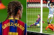 Rambut Kepang Dua Antoine Griezmann Gagal Bawa Hoki