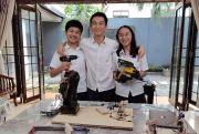 Tim Pelajar Indonesia Raih Emas di Kompetisi Robot Dunia