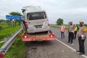 Kecelakaan Maut Tol Cipali, Ini Identitas 4 Korban Tewas Penumpang Minibus