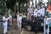 Buntut Kasus Habib Rizieq, Massa FPI Datangi Polsek Cisarua Tuntut Tak Ada Kriminalisasi Ulama