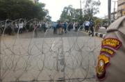 Unjuk Rasa Terkait Habib Rizieq, Empat Akses Jalan Menuju Mapolda Sumsel Ditutup