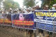 Pendukung Habib Rizieq di Palembang Sampaikan 2 Tuntutan ke Polda Sumsel