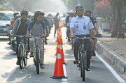 Sediakan Jalur Sepeda, Komunitas Bike to Work Apresiasi Pemprov DKI