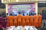 Jelang Libur Nataru, Polres Indramayu Gasak Preman yang Resahkan warga