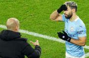 Guardiola Belum Pastikan Aguero Tampil Melawan Southampton