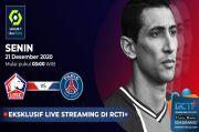 Preview Lille vs PSG: Neymar Absen Hingga Januari, Tuchel Andalkan Di Maria (Live RCTI Plus)